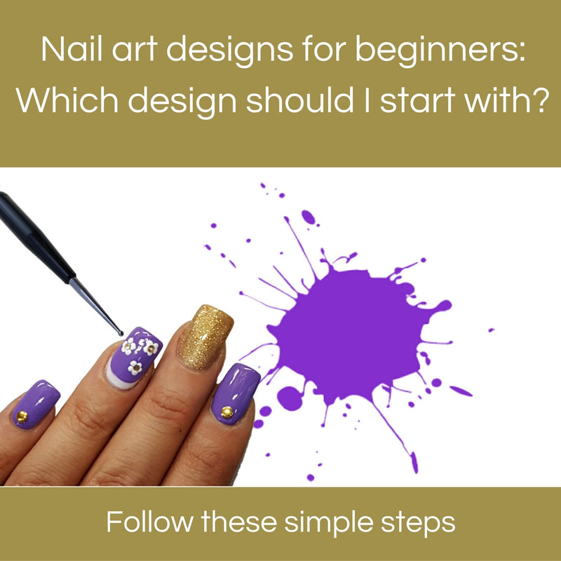 Nail art designs for beginners: Which design should I start with?