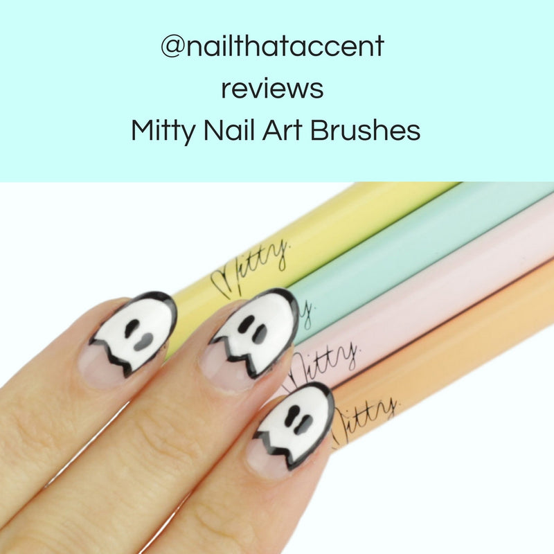 @nailthataccent reviews Mitty nail art tools (70.5K Followers)