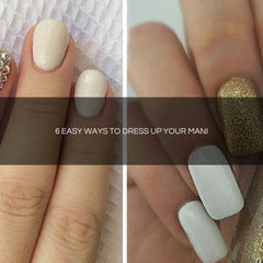 easy way to dress up your mani