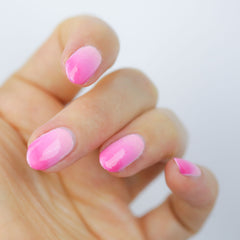 create ombre nail art