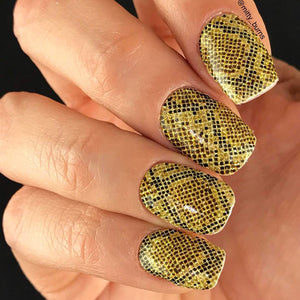 easy nail art for nail wrap
