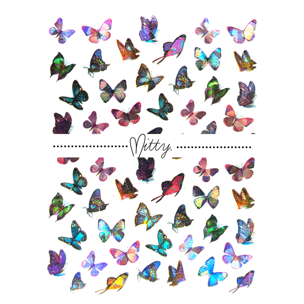 Holo 3D Butterflies - Soft Breeze
