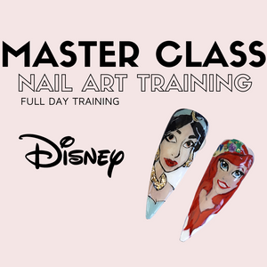 Learn how to draw complex nail art designs