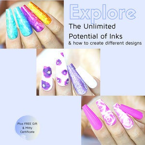 Learn how to control inks and create stunning nail arts