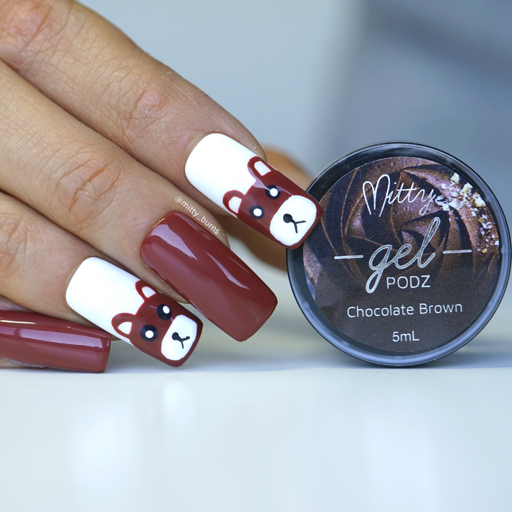 Chocolate Brown Gel PODZ