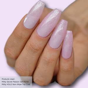 Non-Wipe HOLO Gloss Top Coat 10ml