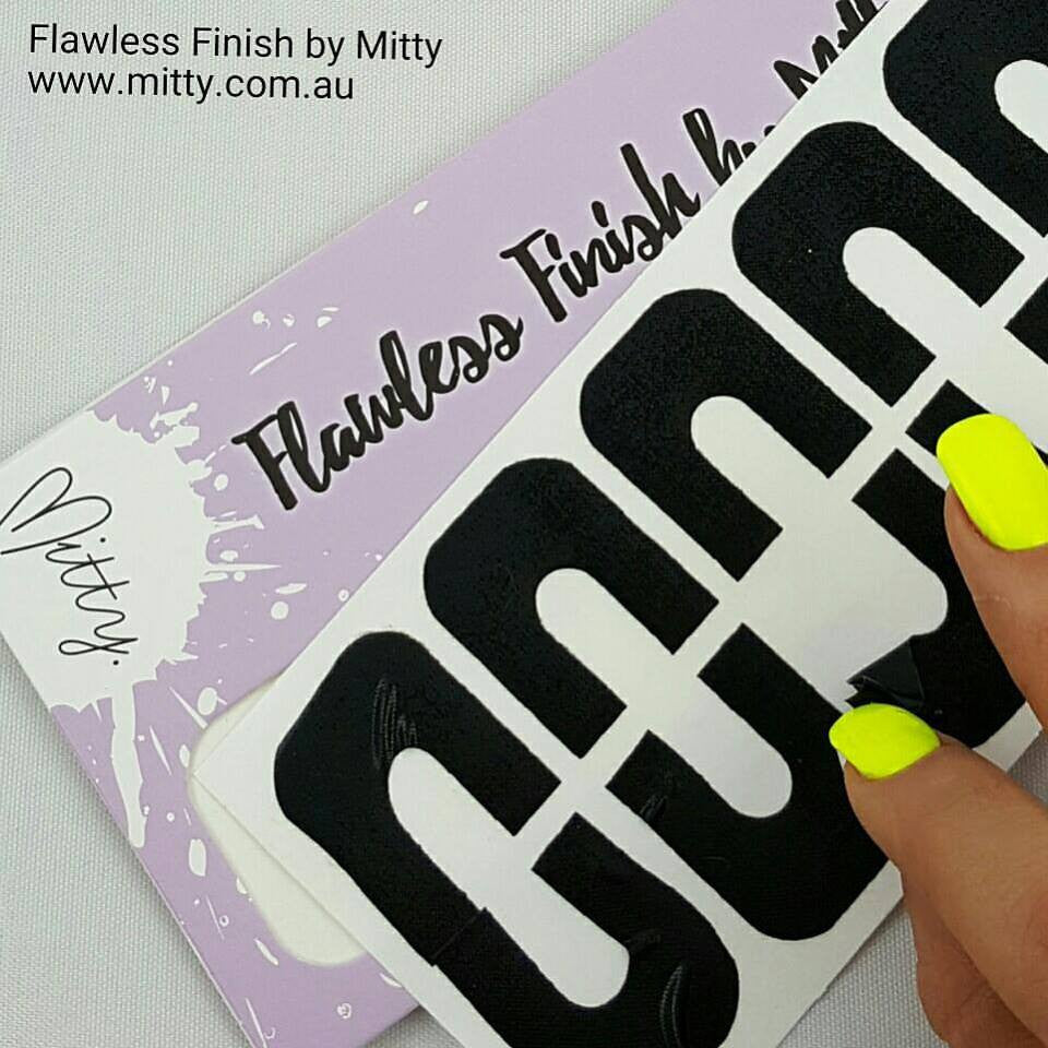 Peel off tape for perfect Mani by Mitty – Mitty Melbourne Australia