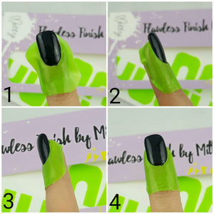 Flawless Finish Peel Off Mani Tape - Lime Green