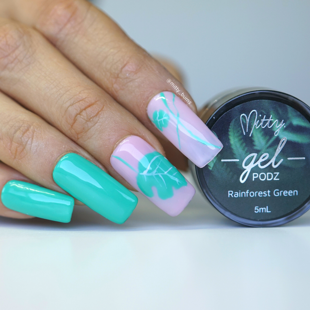 Rainforest Green Gel PODZ
