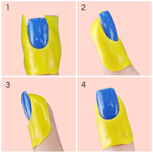 Flawless Finish Peel Off Mani Tape - Buttercup Bananas