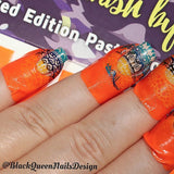 Flawless Finish Peel Off Mani Tape - Mandarin peel