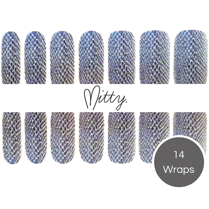 latest nail wrap design