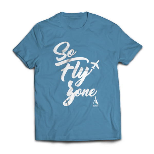 So FLY Zone Tee | Ocean Blue