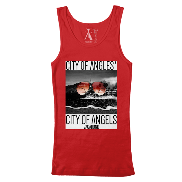 City of Angles* Tank  | Tri-Red