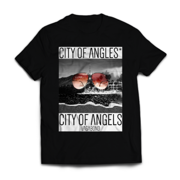 City of Angles* Tee | Black