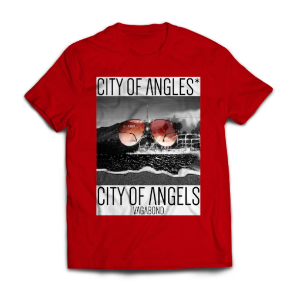 City of Angles* Tee | Red