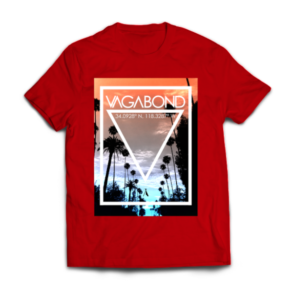 Hollywood Dreams Tee | Red