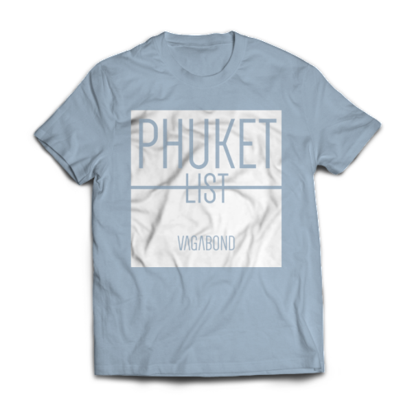 Phuket List Tee | Heather Blue
