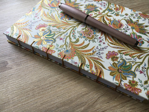 handbound journals hanakrafts exposed coptic stitch