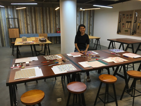 hanakrafts bookbinding workshop singapore