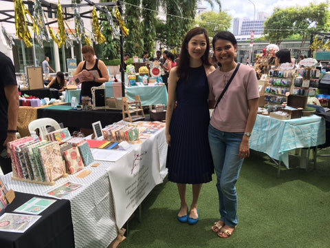 Etsy Made Local Singapore 2017 hanakrafts customers