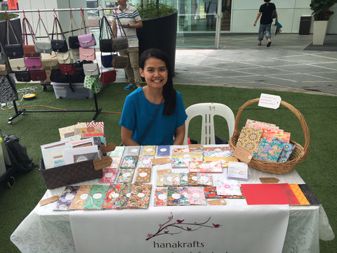 Maker's Market Sept 2016 hanakrafts