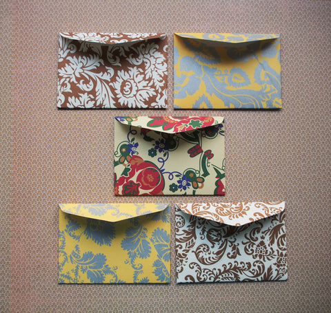Luxury baroque money envelopes