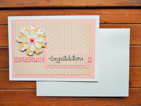 Congratulations baby shower card