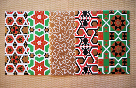Christmas geometric envelopes