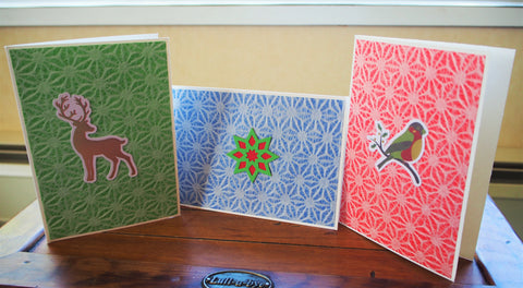 Origami paper cards