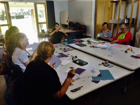 introduction to bookbinding by hanakrafts at arts village rotorua