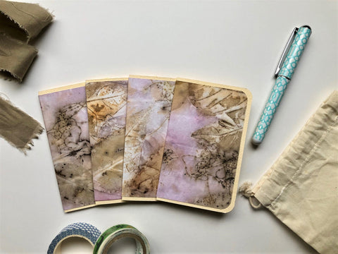 hanakrafts x melo.handmades Mother's Day collection: hand-dyed mini notecard set (set of 4 cards only)