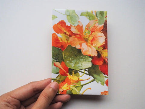 Peachy blooms money envelopes for Eid--set of 5