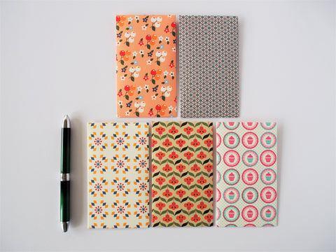 Cute mixed variety pack of money envelopes--set of 5 in tall design