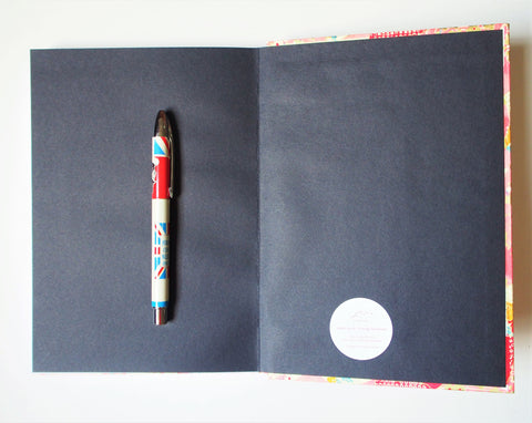 Handbound journals with beautiful traditional Japanese yuzen origami hardcovers