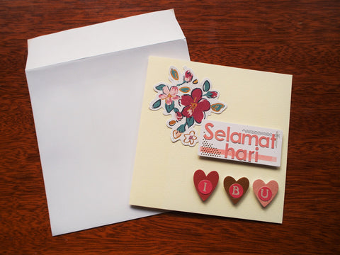 Mother's Day card in Malay: Selamat Hari Ibu