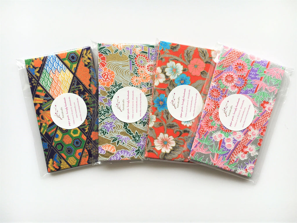 Premium origami money envelopes collection--all 4 designs at a special price!