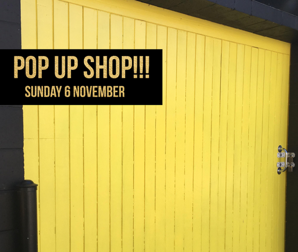 Come say 'hey' at our POP UP SHOP!!!