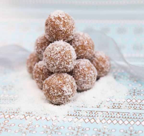 Coconut & Lemon Bliss Balls - By Miss Bliss Whole Foods Kitchen