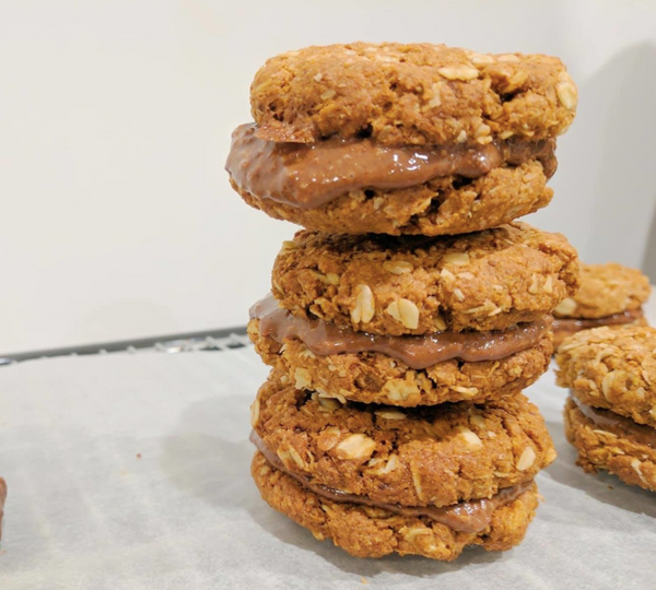 Vegan Spelt Cookies - By Miss Bliss Whole Foods Kitchen