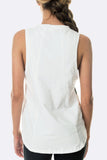 Leap Tank White - Only S left!