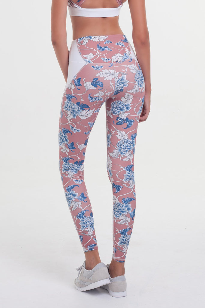 Vortex Legging - Dusty Floral