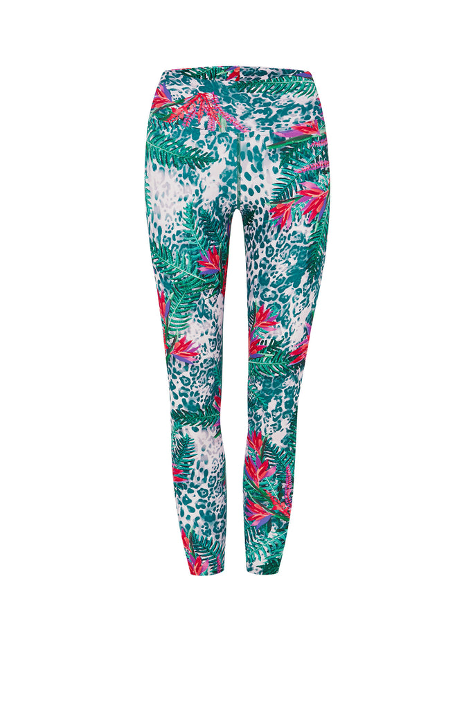 Paradise Cheetah 7/8 Legging - Only 1 x L left!