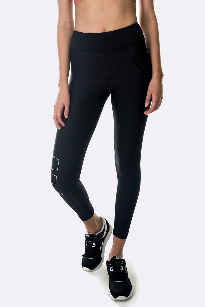Viper 7/8 Black Legging
