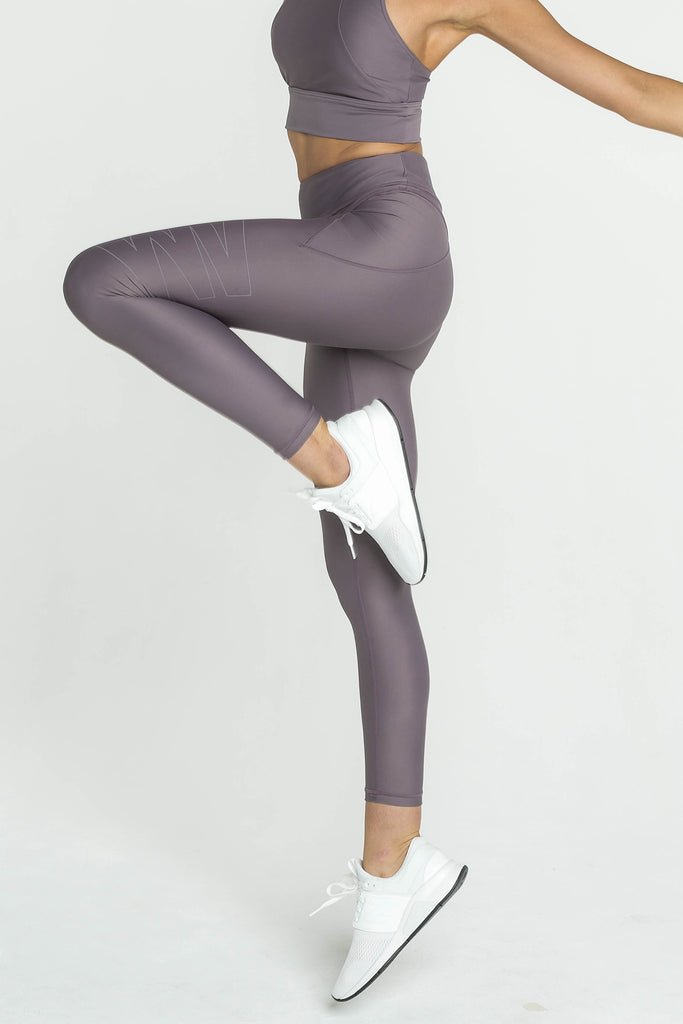 Vault Legging - Dusty Purple
