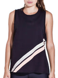 Leap Tank Black/Blush
