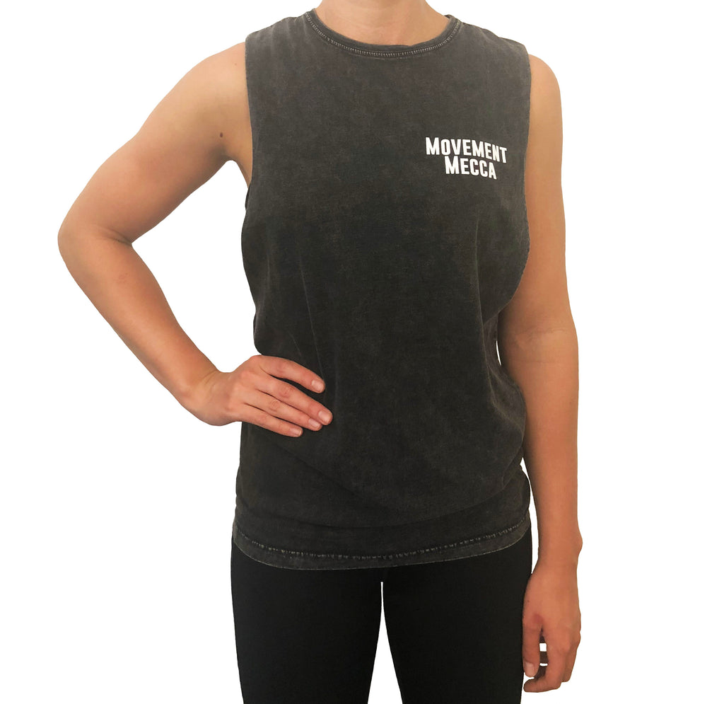 MM Original Muscle Tank Stone Wash