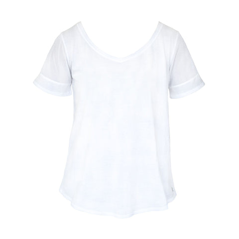 Tie Up Top White - Only M & L Left!