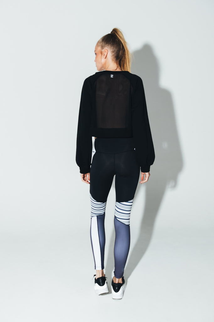 Half Time Sweater - Mesh Back