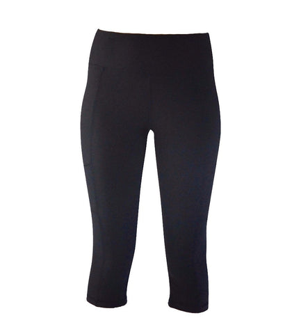 Vega 3/4 Pant Black Mesh - Only 1 Large Left!